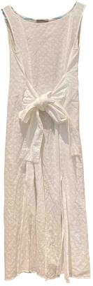 Stefanel White Cotton Dresses