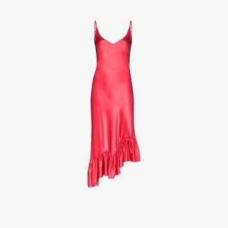 Collina Strada Michi satin slip dress