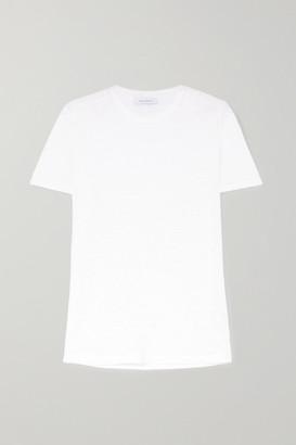 Ninety Percent Linen-jersey T-shirt - White