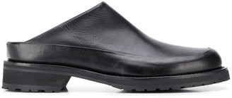 Ann Demeulemeester Closed Toe Low Heel Mules