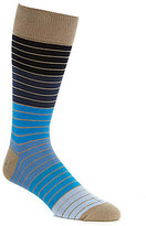 Tommy Bahama Color Block Striped Crew Socks