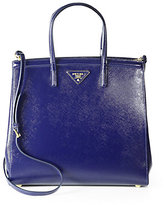 Prada Saffiano Vernice Slim Top Handle Bag