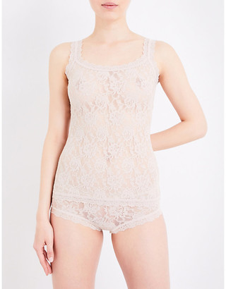 Hanky Panky Ladies Iconic Signature Stretch-Lace Camisole, Size: XS