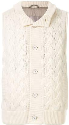Herno cashmere knitted gilet