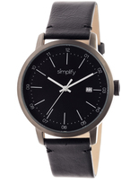Simplify The 2500 Collection SIM2502 Men's Watch with Leather Strap