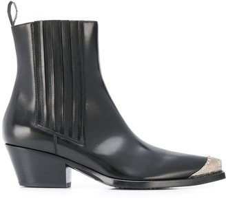 Sartore Western Style Ankle Boots