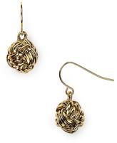 Lauren Ralph Lauren Knot Drop Earrings