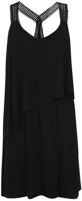 Biba Crochet Trim Dress