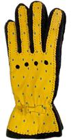 Santacana Madrid Yellow Dots Leather Glove