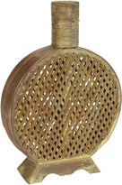 Asstd National Brand Nearly Natural Open Weave Decorative Vase