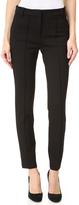 Tibi Mid Rise Tailored Ponte Skinny Pants