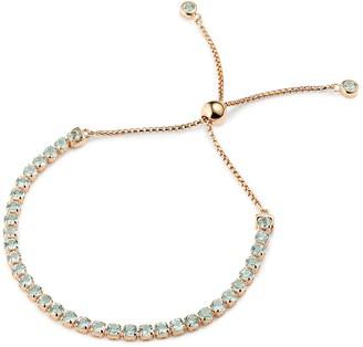 Tsai X Tsai Tamsui Blue Topaz Bracelet 18 Ct Rose Gold Vermeil