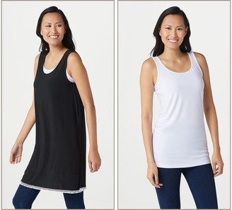 Women With Control Attitudes by Renee Como Jersey Tunic with Tank