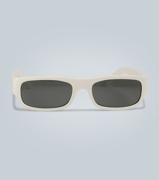 Celine Rectangle frame acetate sunglasses