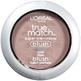 L'Oreal True Match Blush, Tender Rose, 0.21 Ounces