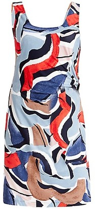 Nic+Zoe Americana Sleeveless Sheath Dress