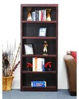 Winston Porter Herard Wood Standard Bookcase Winston Porter Finish: Cherry