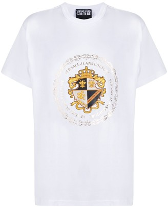 Versace Jeans Couture logo print short-sleeved T-shirt