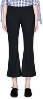 Rosetta Getty Cropped flared jersey pants