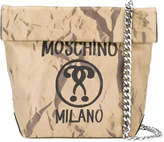 Moschino question mark print shoulder bag
