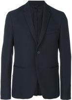 Fendi classic fitted blazer - men - Polyester/Cupro/Wool - 50