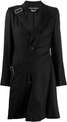 Junya Watanabe Asymmetric Single-Breasted Wool Coat