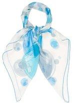 Hermes Bal de Bulles Silk Mousseline Scarf