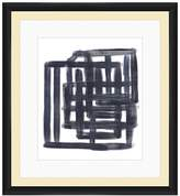 PTM Images Black & White Lines Wall Art
