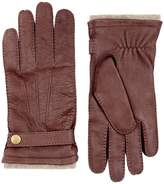 Harrods Of London Cashmere Lined Leather Gloves