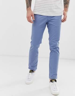 Burton Menswear stretch chino in blue