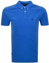 Luke 1977 Basking Polo T Shirt Blue