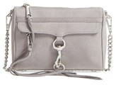 Rebecca Minkoff 'Mini Mac' Convertible Crossbody Bag - Grey