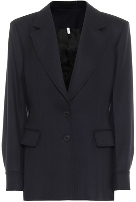 Chloé Virgin wool flannel blazer