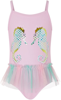 Under Armour Baby Blaire Seahorse Swimsuit Pink