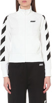 Off-White Sporty zip-up cotton-jersey jacket