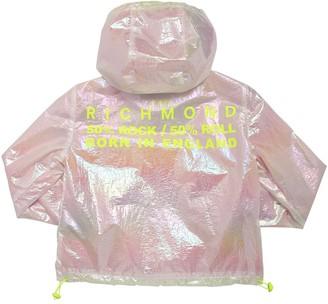 John Richmond Hooded Iridescent Nylon Jacket