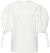 J.W.Anderson Cotton Neoprene Puff Sleeved Tee