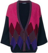 Ballantyne patterned cardigan