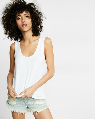 Express Scoop Neck Muscle Tank