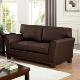 """Thumbnail for your product : Winston Porter Annetto 63"""" Chenille Flared Arm Loveseat"""