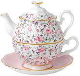 Royal Albert Rse Confet Tea For One