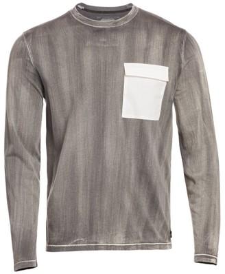 Madison Supply Stone Washed Long Sleeve T-Shirt