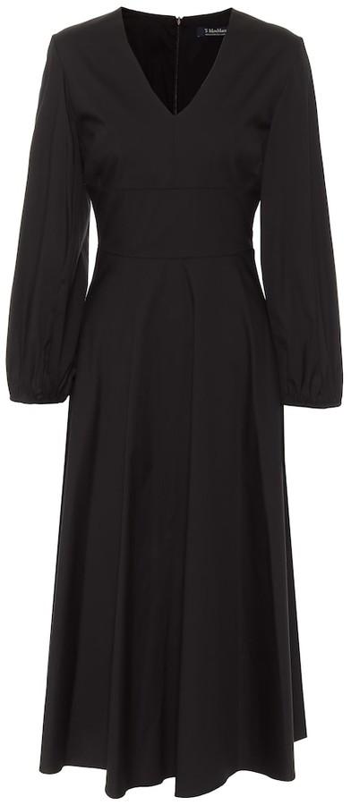 S Max Mara Ardenne cotton-blend midi dress