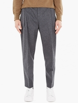 Acne Studios Grey Flannel Piano Trousers