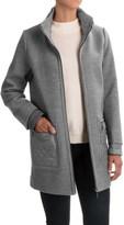 Weatherproof Mixed Media Topper Coat (For Women)
