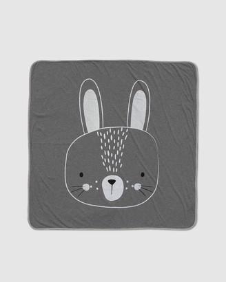 Mister Fly Bunny Face Blanket
