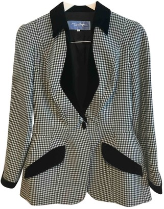 Thierry Mugler Multicolour Wool Jackets