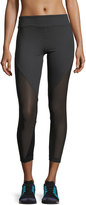 Koral Activewear Lucent Mid-Rise Mesh-Panel Athletic Leggings