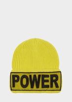 Versace Power Manifesto Knit Hat