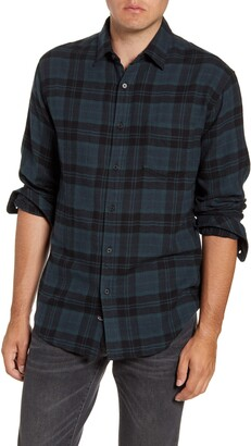 Rails Lennox Regular Fit Plaid Button-Up Shirt